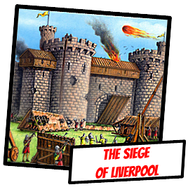 liverpool history - English Civil War - Siege of Liverpool