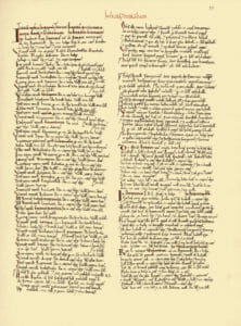Liverpool Domesday Book Page