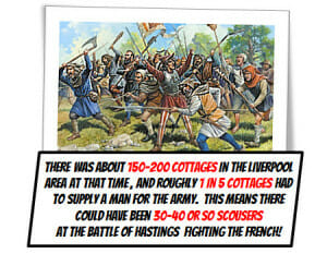 Liverpool History - Battle of Hastings - West Derby